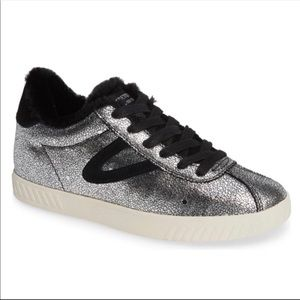 Callie4 faux fur lined tretorn sneakers